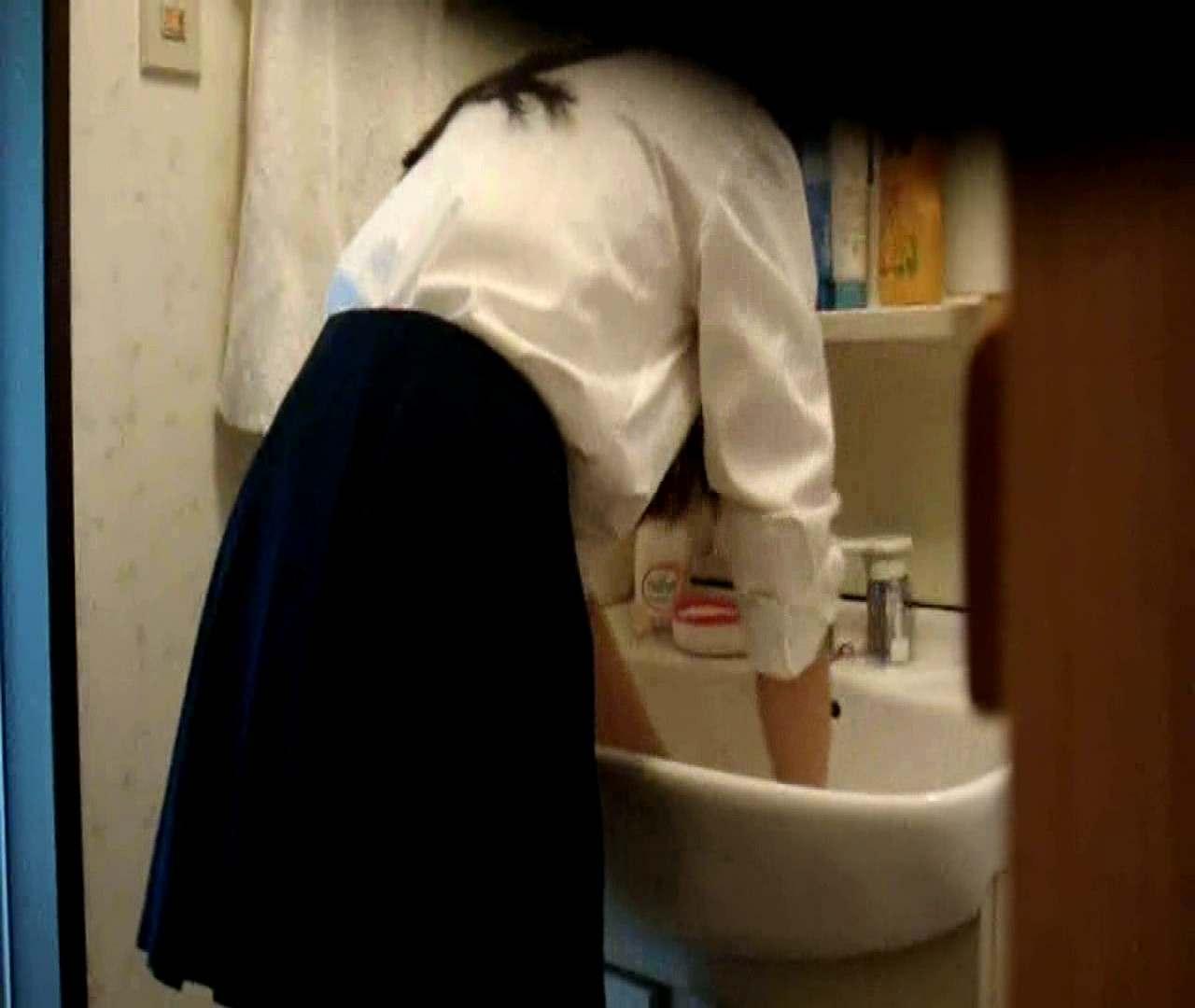 vol.5 まどかが帰宅後の洗顔後にブラを洗ってます。  43枚